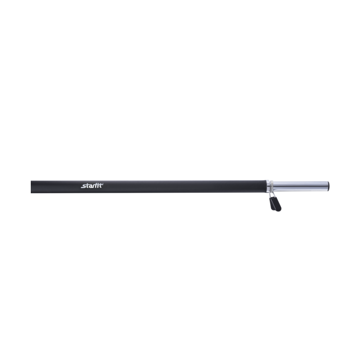 Гриф для штанги BB-104 прямой, d=25 мм, 120 см, с неопреновым покрытием