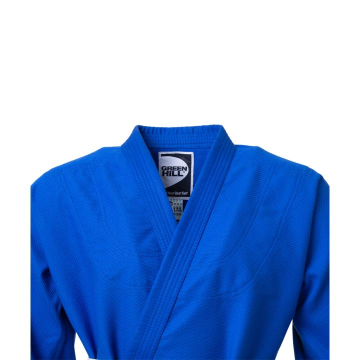 Кимоно для дзюдо JSST-10572, синий, р.0/130
