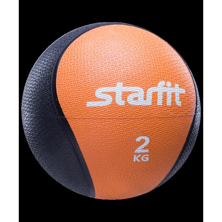 Медбол PRO GB-702, 2 кг, оранжевый