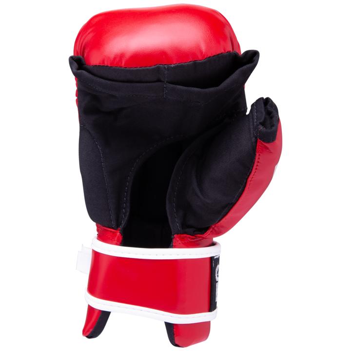 Перчатки для рукопашного боя PG-2047, к/з, S, красный