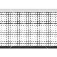 Сетка большой теннис Д=3,0мм яч 40*40 мм цв. Бел Раз. 1,07*12,8 м обш. с 4-х ст. верх лента 5 см ПП JAGUAR-SPORT