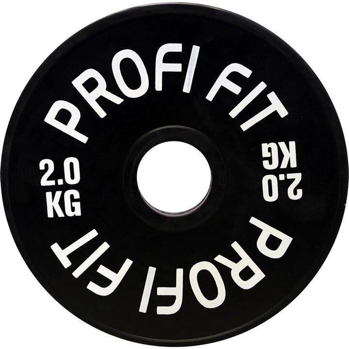 Бамперный диск для штанги каучуковый JAGUAR-SPORT D-51, 2 кг