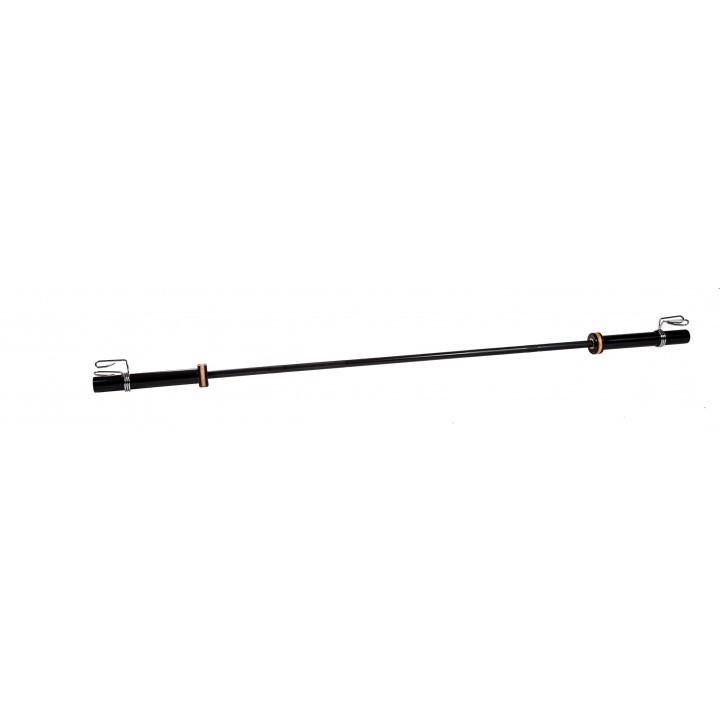 Гриф для кроссфита JAGUAR-SPORT, D-50, L2010, женский прямой, гладкая втулка, до 480 кг, замки-пружины