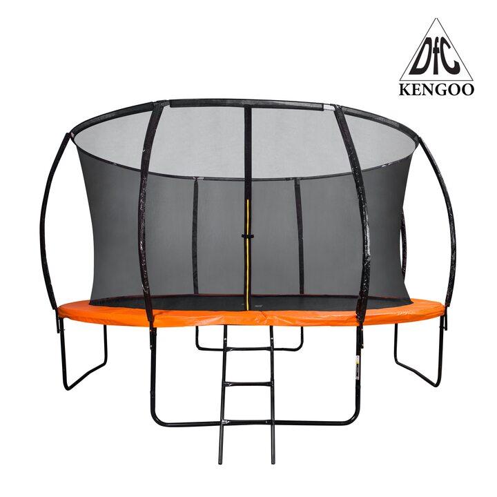 Батут DFC KENGOO 14 футов (427 см) внутр.сетка, лестница