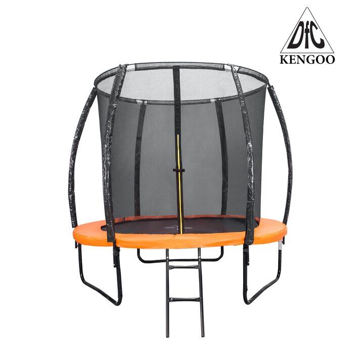 Батут DFC KENGOO 8 футов (244 см) внутр.сетка, лестница