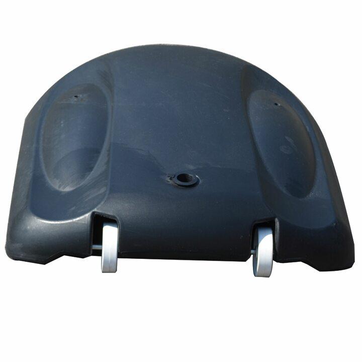 Мобильная баскетбольная стойка DFC KIDS4 80x58 см полиэтилен