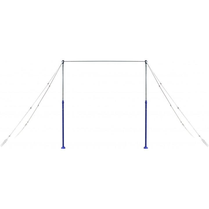 Перекладина гимнастическая на растяжках JAGUAR-SPORT, универсальная
