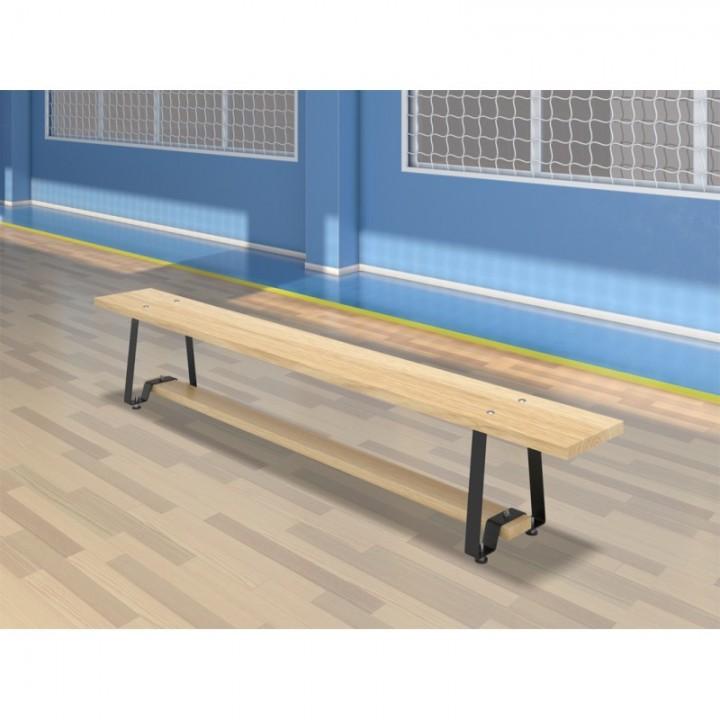 Скамейка гимнастическая Euro-1500 (регулировка опор)