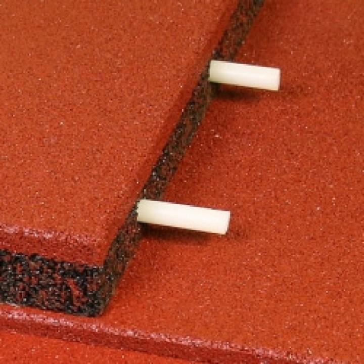 Соединительные втулки Ecostep для плитки толщиной 40-50 мм (8 шт.)