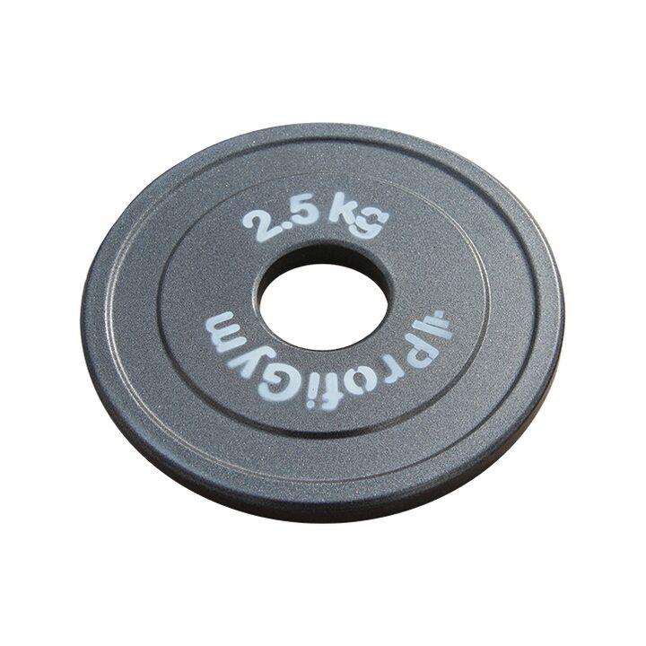 Диск стальной «Powerlifting» с полимерным покрытием Profigym 2.5 кг