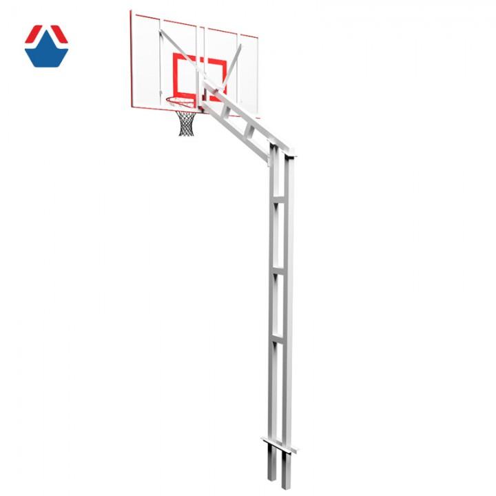 Стойка баскетбольная разборная бетонируемая (вынос 1200мм)