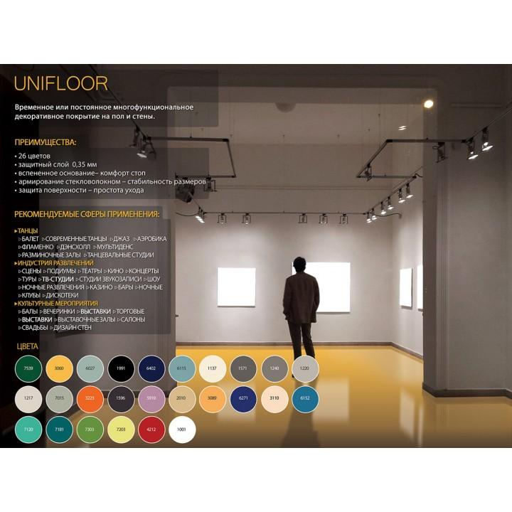 Сценическое напольное покрытие GraboShow Unifloor
