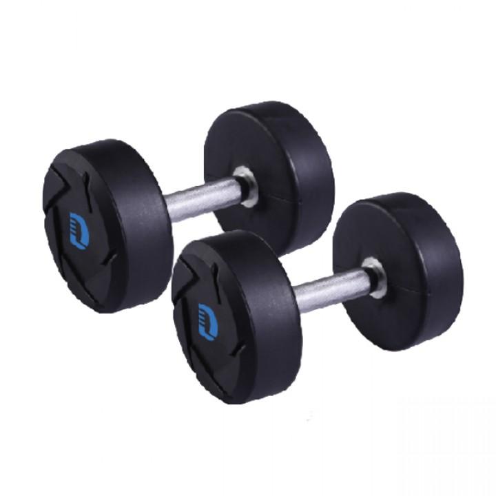Гантели полиуретановые JAGUAR-SPORT 2.5-50 кг