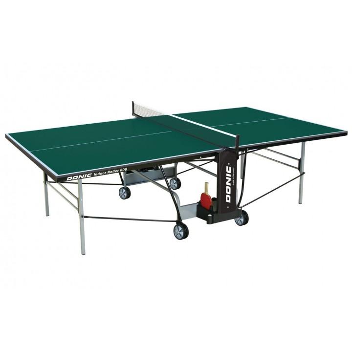 Теннисный стол Donic Indoor Roller 800 зелёный