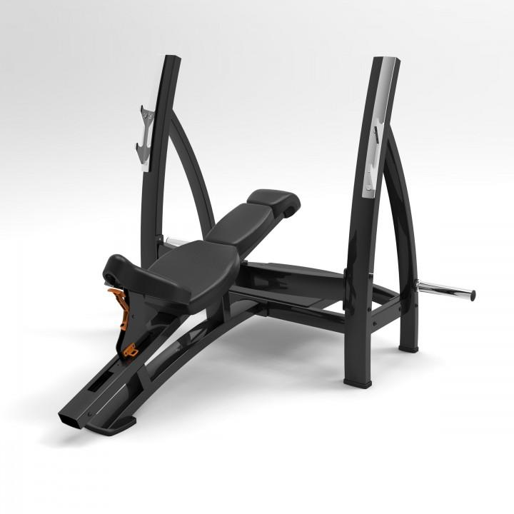 Олимпийская наклонная скамья для жима Elite73 JS7338