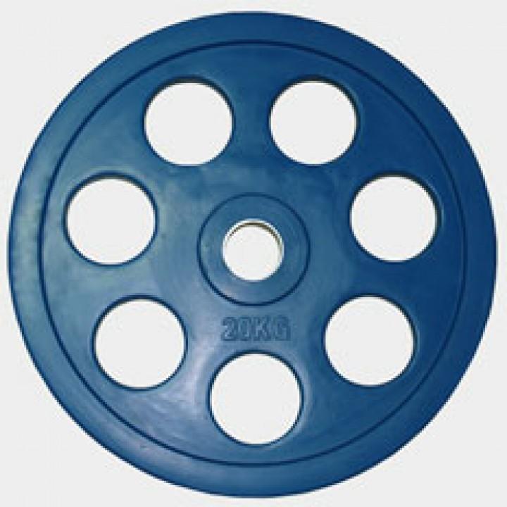 "Олимпийский диск евро-классик с хватом ""Ромашка"" Oxygen 20 кг."