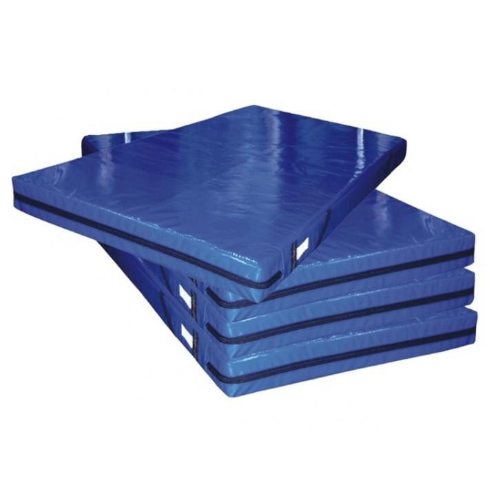 Мат гимнастический 100x200x10 см тентовая ткань 630 (без поролона) JAGUAR-SPORT