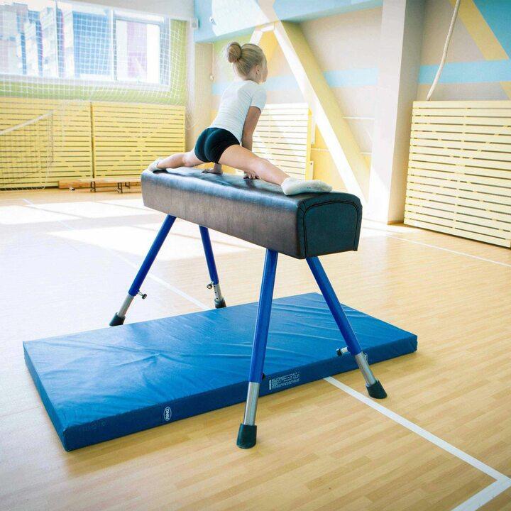 Мат гимнастический 100x200x10 см тентовая ткань 630 JAGUAR-SPORT