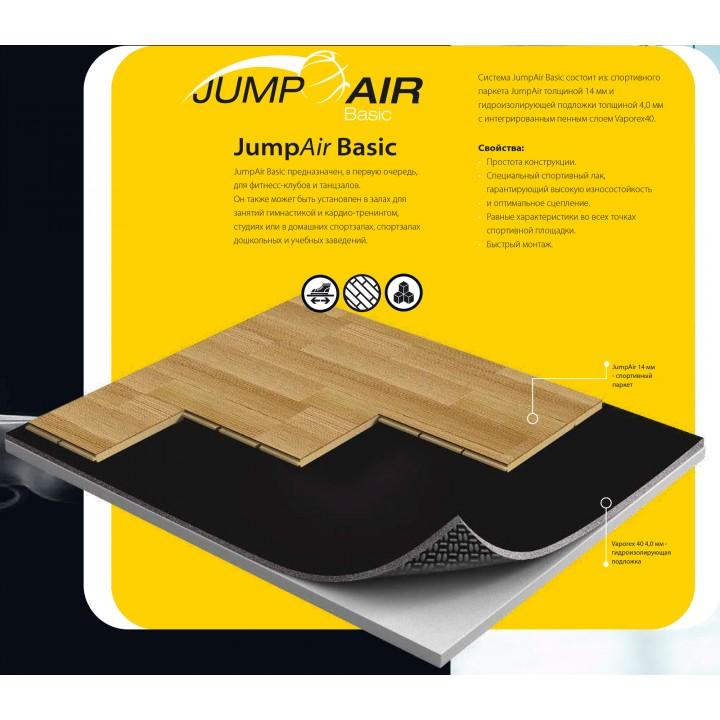 Паркетная система GraboSport JumpAir Basic (дуб)