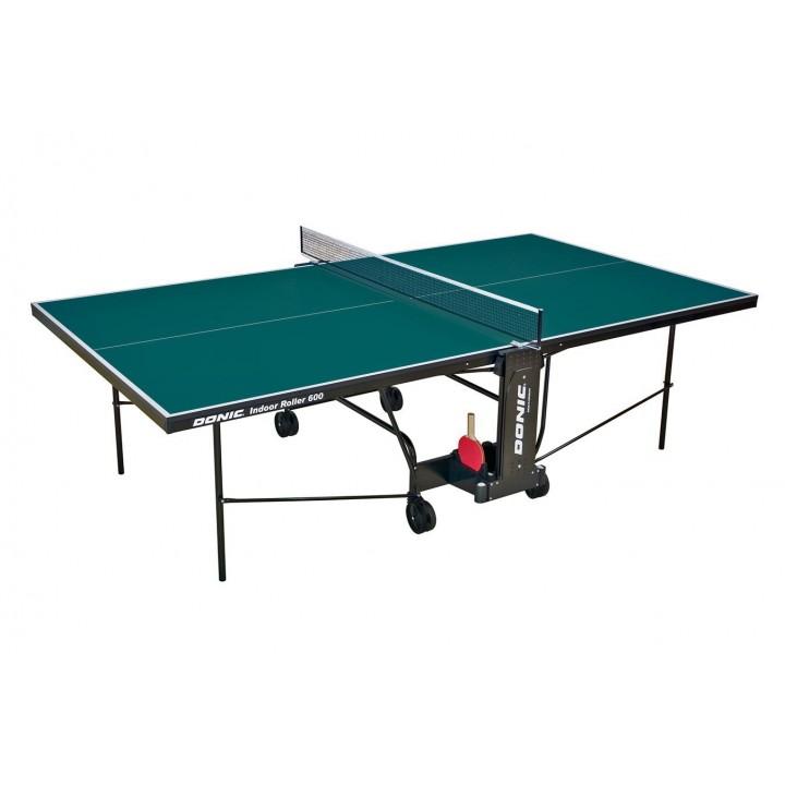 Теннисный стол Donic Indoor Roller 600 зелёный