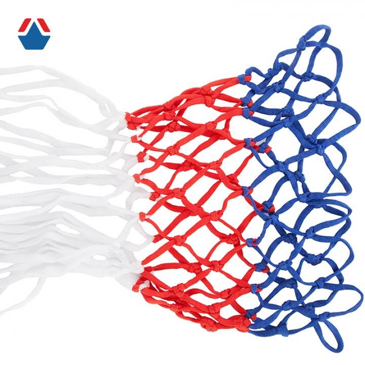 Сетка баскетбольная Триколор игровая 3,1 мм