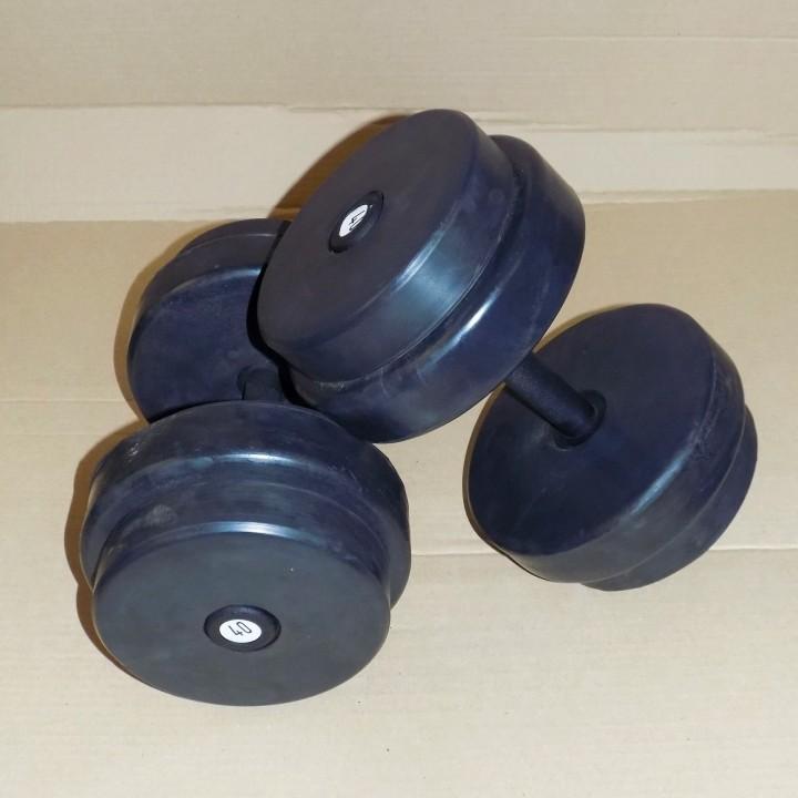Гантельный ряд JAGUAR-SPORT 2,5-50 кг, 20 пар